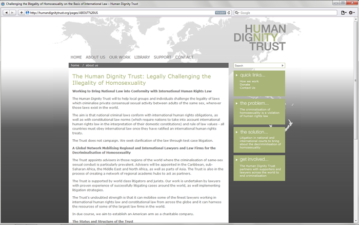 human dignity trust