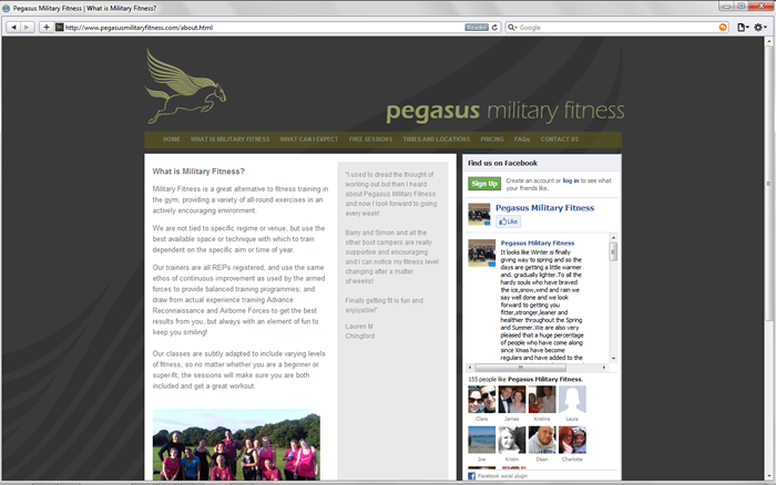pegasus military fitness